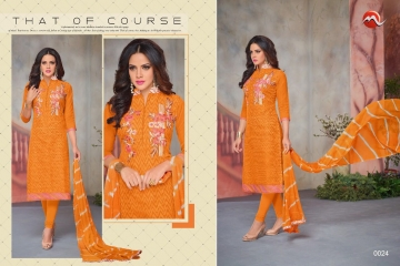 MOOF FASHION SHAISTA VOL 2 CHANDERI EMBROIDERED SUITS WHOLESALER BEST RATE BY GOSIYA EXPORTS SURAT (7)
