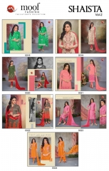 MOOF FASHION SHAISTA VOL 2 CHANDERI EMBROIDERED SUITS WHOLESALER BEST RATE BY GOSIYA EXPORTS SURAT (8)