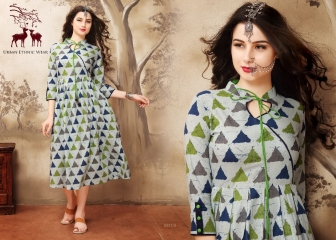 MRIGYA AARAMBH COTTON KURTI WHOLESALE EXPORTER BEST RATE BY GOSIYA EXPORTS SURAT (1)