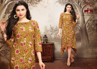 MRIGYA AARAMBH COTTON KURTI WHOLESALE EXPORTER BEST RATE BY GOSIYA EXPORTS SURAT (3)