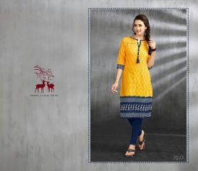 MRIGYA ENAAYAA FANCY LAWN COTTON KURTIS BEST RATE AT GOSIYA EXPORTS (10)