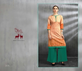 MRIGYA ENAAYAA FANCY LAWN COTTON KURTIS BEST RATE AT GOSIYA EXPORTS (4)