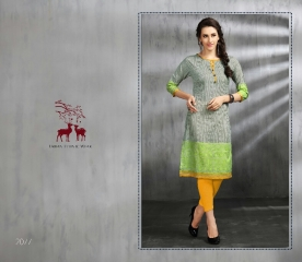 MRIGYA ENAAYAA FANCY LAWN COTTON KURTIS BEST RATE AT GOSIYA EXPORTS (6)