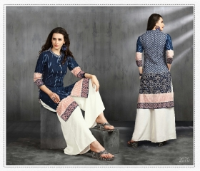 MRIGYA ENAAYAA FANCY LAWN COTTON KURTIS BEST RATE AT GOSIYA EXPORTS (7)