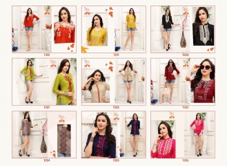 MRIGYA FIONA 2 HEAVY RAYON PARTY WEAR KURTIES COLLECTION WHOLESALE BEST SELLER DEALER RATE BY GOSIYA EXPORTS SURAT (10)