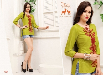 MRIGYA FIONA 2 HEAVY RAYON PARTY WEAR KURTIES COLLECTION WHOLESALE BEST SELLER DEALER RATE BY GOSIYA EXPORTS SURAT (4)