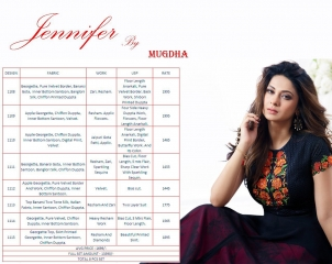 MUGDHA JENNIFER DESIGNER LONG SUIT MUGDHA CATALOG AT BEST RATE BU GOSIYA EXPORTS SURAT (1)