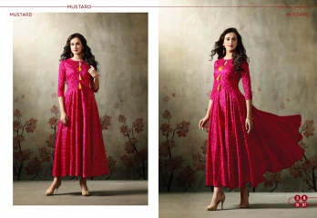 MUGDHA MUSTARD VOL 2 DESIGNER KURTI CATALOG WHOLESALE RATE BEST BY GOSIYA EXPORTS SURAT (39)