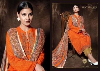MUMTAAZ ARTS KAPAS JAM SATIN EMBROIDERED SUITS WHOLESALE DEALER BEST RATE BY GOSIYA EXPORTS SURAT (8)