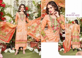 MUMTAZ ARTS THE ORIGINAL LAWN COTTON VOL 6 WHOLESALE RATE AT GOSIYA EXPORTS SURAT WHOLESALE SUPPLAYER AND DEALER SURAT GUJARAT (1)