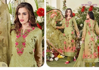 MUMTAZ ARTS THE ORIGINAL LAWN COTTON VOL 6 WHOLESALE RATE AT GOSIYA EXPORTS SURAT WHOLESALE SUPPLAYER AND DEALER SURAT GUJARAT (4)