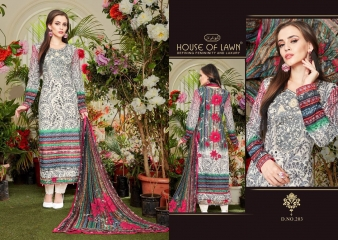 MUSLIN 2 BY HOUSE OF LAWN CATALOG PREMIUM LAWN DUPATTA COLLECTION WHOLESALE SUPPLIER BEST RATE BY GOSIYA EXPORTS SURAT (10)