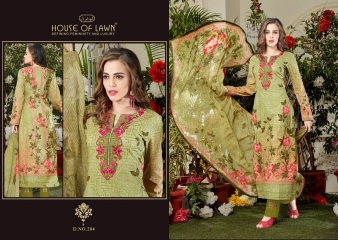 MUSLIN 2 BY HOUSE OF LAWN CATALOG PREMIUM LAWN DUPATTA COLLECTION WHOLESALE SUPPLIER BEST RATE BY GOSIYA EXPORTS SURAT (2)