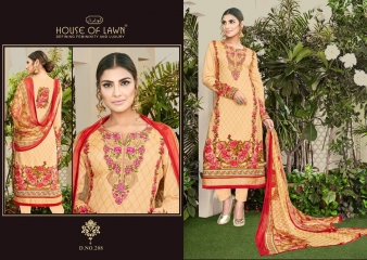 MUSLIN 2 BY HOUSE OF LAWN CATALOG PREMIUM LAWN DUPATTA COLLECTION WHOLESALE SUPPLIER BEST RATE BY GOSIYA EXPORTS SURAT (4)