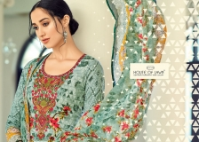 MUSLIN VOL 8 BY HOUSE OF LAWN DESIGNER WHOLESALE PRINTED LAWN COTTON WITH EMBROIDERY WORK DRESS MATERIAL WHOLESALE RATE AT GOSIYA EXPORTS SURAT WHOLESALE DEALER AND SUPPLAYER SURAT