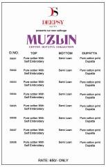 MUZLIN DEEPSY COTTON DUPATTA COLLECTION WHOLESALE RATE AT GOSIYA EXPORTS SURAT (2)