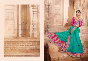 NAKKASHI ELEGANCE EUPHONY DESGINER SAREES COLLECTION WHOLESALE PRICE AT GOSIYA EXPORTS SURAT GUJARAT WHOLESALE DEALER (12)