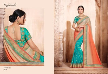 NAKKASHI ELEGANCE EUPHONY DESGINER SAREES COLLECTION WHOLESALE PRICE AT GOSIYA EXPORTS SURAT GUJARAT WHOLESALE DEALER (15)