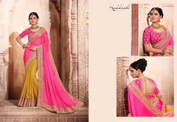 NAKKASHI ELEGANCE EUPHONY DESGINER SAREES COLLECTION WHOLESALE PRICE AT GOSIYA EXPORTS SURAT GUJARAT WHOLESALE DEALER (19)