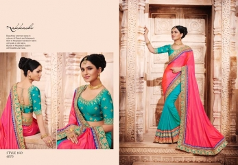 NAKKASHI ELEGANCE EUPHONY DESGINER SAREES COLLECTION WHOLESALE PRICE AT GOSIYA EXPORTS SURAT GUJARAT WHOLESALE DEALER (5)