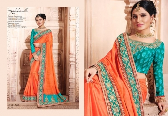 NAKKASHI ELEGANCE EUPHONY DESGINER SAREES COLLECTION WHOLESALE PRICE AT GOSIYA EXPORTS SURAT GUJARAT WHOLESALE DEALER (7)