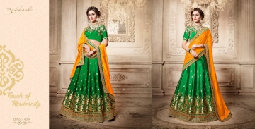 Nakkashi elements heavy range sarees colllections WHOLESALE BEST ARTE BY GOSIYA EXPORTS SURAT (10)