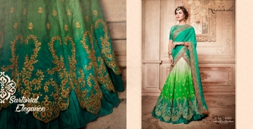 Nakkashi elements heavy range sarees colllections WHOLESALE BEST ARTE BY GOSIYA EXPORTS SURAT (14)