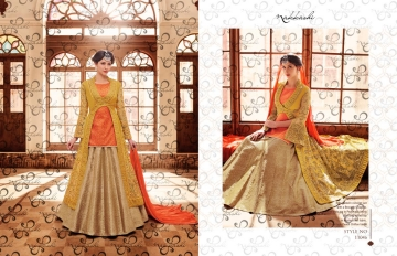 NAKKASHI ENCORE WHOLESALE PRICE AT SURAT THE BRIDAL COLLECTION (11)