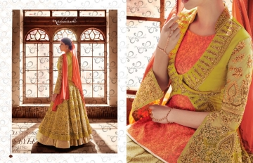 NAKKASHI ENCORE WHOLESALE PRICE AT SURAT THE BRIDAL COLLECTION (6)