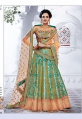 NAKKASHI ETHNIC ESSENCE COLLECTION BRIDAL WEAR LEHENGA CATALOGUE WHOLESALE BEST RATE BY EXPORTS SURAT