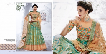 NAKKASHI ETHNIC ESSENCE COLLECTION FANCY DESIGNER LEHENGA CATALOG IN WHOLESALE BEST RAET BY GOSIYA EXPORTS SURAT (1)