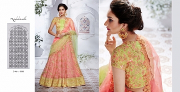NAKKASHI ETHNIC ESSENCE COLLECTION FANCY DESIGNER LEHENGA CATALOG IN WHOLESALE BEST RAET BY GOSIYA EXPORTS SURAT (10)