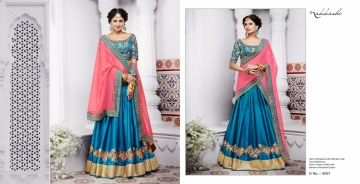 NAKKASHI ETHNIC ESSENCE COLLECTION FANCY DESIGNER LEHENGA CATALOG IN WHOLESALE BEST RAET BY GOSIYA EXPORTS SURAT (11)