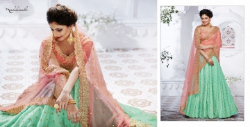NAKKASHI ETHNIC ESSENCE COLLECTION FANCY DESIGNER LEHENGA CATALOG IN WHOLESALE BEST RAET BY GOSIYA EXPORTS SURAT (13)