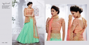 NAKKASHI ETHNIC ESSENCE COLLECTION FANCY DESIGNER LEHENGA CATALOG IN WHOLESALE BEST RAET BY GOSIYA EXPORTS SURAT (14)