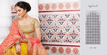 NAKKASHI ETHNIC ESSENCE COLLECTION FANCY DESIGNER LEHENGA CATALOG IN WHOLESALE BEST RAET BY GOSIYA EXPORTS SURAT (15)