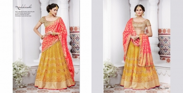 NAKKASHI ETHNIC ESSENCE COLLECTION FANCY DESIGNER LEHENGA CATALOG IN WHOLESALE BEST RAET BY GOSIYA EXPORTS SURAT (16)