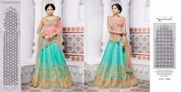 NAKKASHI ETHNIC ESSENCE COLLECTION FANCY DESIGNER LEHENGA CATALOG IN WHOLESALE BEST RAET BY GOSIYA EXPORTS SURAT (17)