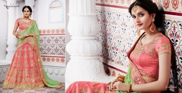 NAKKASHI ETHNIC ESSENCE COLLECTION FANCY DESIGNER LEHENGA CATALOG IN WHOLESALE BEST RAET BY GOSIYA EXPORTS SURAT (19)