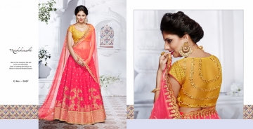 NAKKASHI ETHNIC ESSENCE COLLECTION FANCY DESIGNER LEHENGA CATALOG IN WHOLESALE BEST RAET BY GOSIYA EXPORTS SURAT (4)