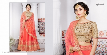 NAKKASHI ETHNIC ESSENCE COLLECTION FANCY DESIGNER LEHENGA CATALOG IN WHOLESALE BEST RAET BY GOSIYA EXPORTS SURAT (5)