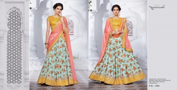 NAKKASHI ETHNIC ESSENCE COLLECTION FANCY DESIGNER LEHENGA CATALOG IN WHOLESALE BEST RAET BY GOSIYA EXPORTS SURAT (7)