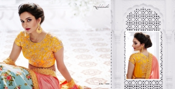 NAKKASHI ETHNIC ESSENCE COLLECTION FANCY DESIGNER LEHENGA CATALOG IN WHOLESALE BEST RAET BY GOSIYA EXPORTS SURAT (8)