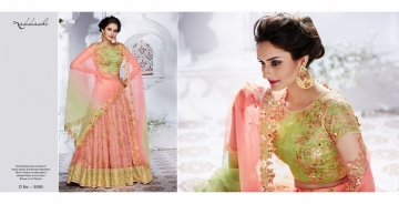 NAKKASHI ETHNIC ESSENCE COLLECTION FANCY DESIGNER LEHENGA CATALOG IN WHOLESALE BEST RAET BY GOSIYA EXPORTS SURAT (9)