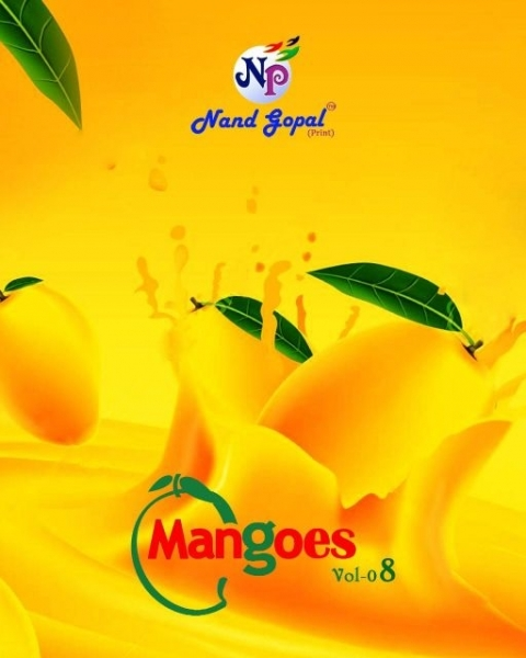 NANDGOPAL PRESENTS MANGOES VOL 8 COTTON DRESS MATERILAS WHOLESALE DEALER BEST RATE BY GOSIYA EXPORTS SURAT (1)