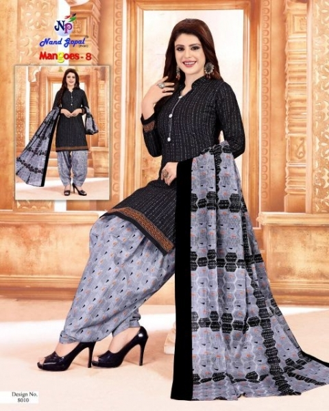 NANDGOPAL PRESENTS MANGOES VOL 8 COTTON DRESS MATERILAS WHOLESALE DEALER BEST RATE BY GOSIYA EXPORTS SURAT (12)