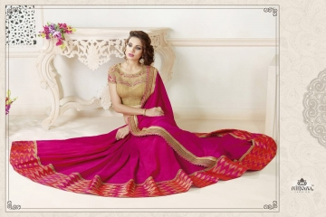 NIRAVANA FASHION NEW CATALOG OF EXCLUSIVE DESIGNER SAREE CATALOG WHOLESALE BEST RATE BY GOSIYA EXPORTS SURAT (1)
