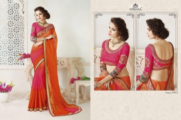 NIRAVANA FASHION NEW CATALOG OF EXCLUSIVE DESIGNER SAREE CATALOG WHOLESALE BEST RATE BY GOSIYA EXPORTS SURAT (13)