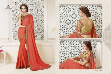 NIRAVANA FASHION NEW CATALOG OF EXCLUSIVE DESIGNER SAREE CATALOG WHOLESALE BEST RATE BY GOSIYA EXPORTS SURAT (15)