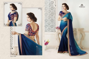 NIRAVANA FASHION NEW CATALOG OF EXCLUSIVE DESIGNER SAREE CATALOG WHOLESALE BEST RATE BY GOSIYA EXPORTS SURAT (3)